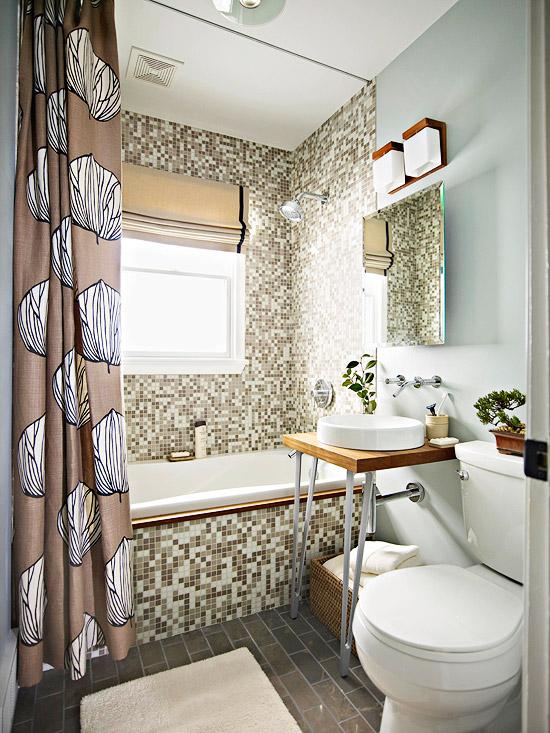 Красивые маленькие ванные комнаты фото