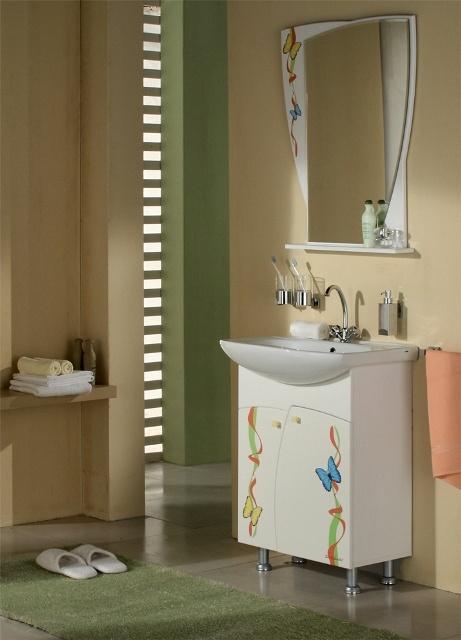 Задайте вопрос по этому товару. Мебель для ванной Флора изготовлена.