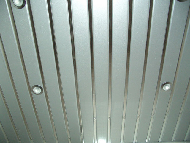 Реечный потолок фото