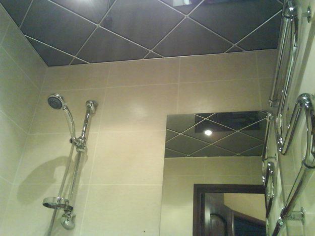 Подвесной потолок своими руками ванная комната 92